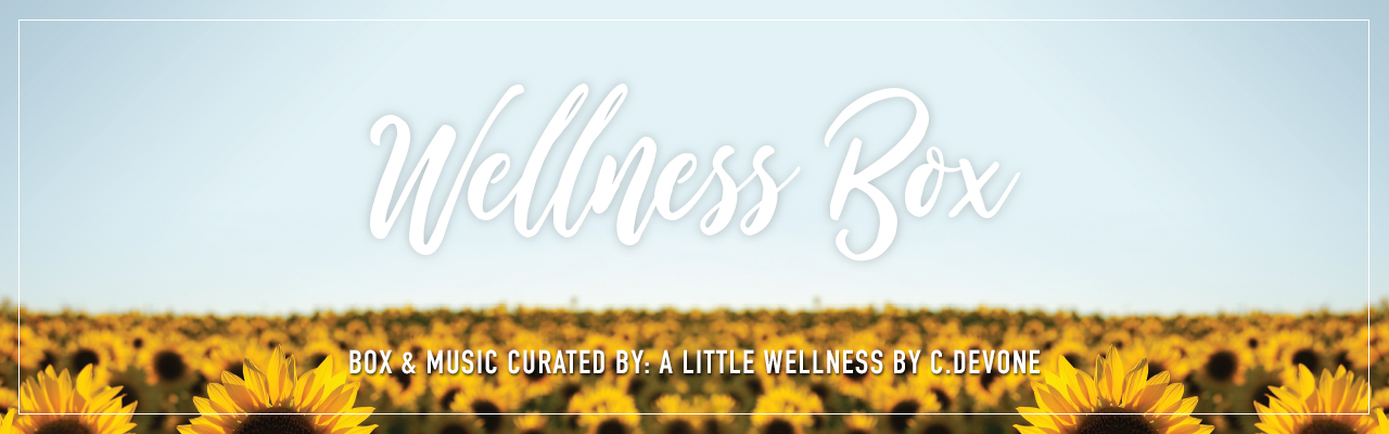 TASF Wellness Box - Box & Music Curated by A Little Wellness by C. DeVone